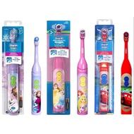 德國百靈 Oral-B 歐樂B 兒童防水電動牙刷 兒童牙刷 電動牙刷 電池式 (附電池)