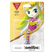 【Nintendo 任天堂】amiibo公仔 薩爾達公主(薩爾達傳說:風之律動系列)