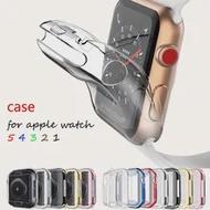 สำหรับ Apple Watch Series 5 4 3 2 1 Band-แบบ Ultra-Thin ป้องกันหน้าจอ iwatch กรณี44มม./40มม.42มม./38มม.