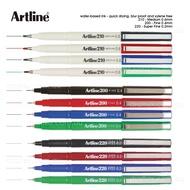 Artline Writing Pen Artline 200 Artline 210 Artline 220 Artline 250 0.2 0.4 0.6 - 1pcs