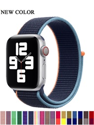 Sport  loop strap for Apple Watch band 38mm 42mm  nylon iWatch Series SE 5 4 wristband bracelet apple watch 6 band 40mm 44mm
