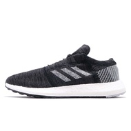 adidas 慢跑鞋 PureBOOST Go 黑 白 針織 男鞋 愛迪達 運動鞋 【ACS】 B37803