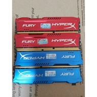 金士頓 Kingston HyperX Fury DDR3 1866 8G*4 記憶體 32G