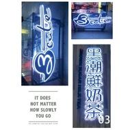 台中LED 3D發光字 鐵殼字 背光字 發光字 立體字 超薄燈箱 水晶造型燈 不鏽鋼字 燈泡字 專業 LED 看板