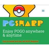 Pgsharp key pokemon go license key