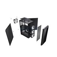 ATX Case (NP) TECWARE VEGA L Tempered Glass ARGB (Black)