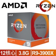 AMD Ryzen 9-3900X 3.8GHz 12核心 中央處理器