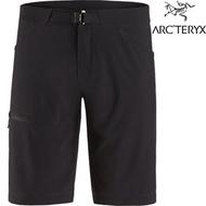 Arcteryx 始祖鳥 休閒短褲/登山短褲 快乾排汗 Lefroy 男款 26847 黑色