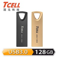 TCELL冠元-USB3.0 128GB 浮世繪鋅合金隨身碟