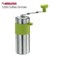 【Tiamo】1209 攜帶型迷你不鏽鋼手搖磨豆機-綠色(HG6171EG)