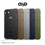 【愛瘋潮】QinD Google Pixel 3a XL 戰術護盾保護套 背蓋 TPU套 手機殼 保