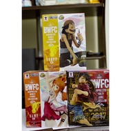 【日版金證】 BWFC 娜美20週年  騙人布20週年淘氣 魯夫2017 優勝記念作品  景品 公仔 海賊王
