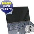 【Ezstick】Lenovo IdeaPad Flex 5i 5 14 IIL 靜電式筆電LCD液晶螢幕貼 (鏡面)