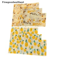 FBSG Food Wrap Beeswax Reusable Sustainable Plastic Free Beeswax Food Storage Wrap Hot