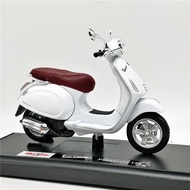 Maisto 1:18 Vespa Primavera 150 Scooter 重機模型