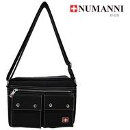 5-P816B【 NUMANNI 奴曼尼】實用橫式側背包