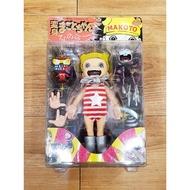 🇯🇵喔啦玩具店🇹🇼楳圖一雄 阿誠 紅條紋 誠仔 變身 小誠 絕版 玩具 公仔 吊卡