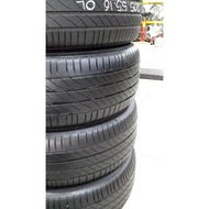 Used Tyre Secondhand Tayar  MICHELIN PRIMACY 3 ST 205/55R16 90%/80% Bunga Per 1pc
