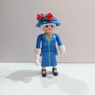 Playmobil 15 代 藍衣女王 人偶包 摩比