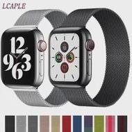 สำหรับ Apple Watch Band 40มม.44มม.38มม.42มม.IWatch Series 6 5 4 3 Se แม่เหล็กสร้อยข้อมือ Smartwatch Apple 40 44มม.
