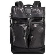 正品新款原廠 TUMI/途米 JK365 男女款 休閒商務雙肩包 進口真皮牛皮 旅行後背包 電腦包 內置19寸筆記本隔層