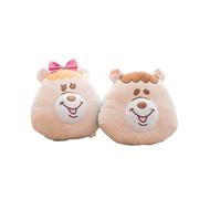 【正版WC熊臉型靠墊-小款】Norns kumatan kuma糖 午安枕 玩偶 娃娃 抱枕 枕頭