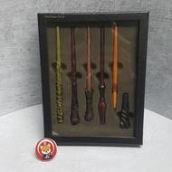 【現貨】哈利波特 魔杖原子筆5入禮盒 日本環球影城【波吉】