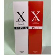 EX-PLUS   日本黑髮極限-男   黑誕彩女控油健髮洗髮素    男女各一瓶