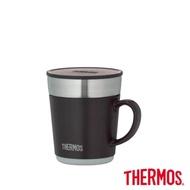 [送口罩收納套] 【THERMOS膳魔師】不鏽鋼真空保溫杯240ml 咖啡色(JDC-241-ESP)