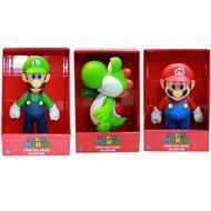 Super Mario Bros 超級瑪利歐兄弟 馬里歐 路易 超級瑪麗 瑪莉歐模型公仔 可動 玩偶 HACKEN07