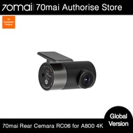 70mai Rear Cam RC06 for 70mai 4K Dash Cam A800 70mai 4K Car DVR A800 Rearview cam