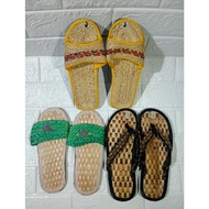 [Ready Stock]▫✼  Native Abaca Product Indoor House Slippers from Bicol