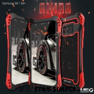 三星s8金屬三防手機殼 S9 plus防摔防水殼S8 tpu硅膠手機殼-瞌睡兔