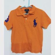 Ralph Lauren RL 男小童裝 大馬 短Polo衫(二手)