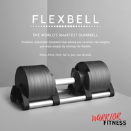 Premium Adjustable Flexbell 32KG & 20KG Quick Adjustable Dumbbell Futuristic Space Saving Smart Nuo Flexbell