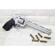 UHC 8吋 左輪 手槍 空氣槍 銀 ( BB槍BB彈玩具槍獵槍城市獵人M29左輪槍 PYTHON M357 M586