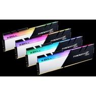 【一級棒】芝奇G.SKILL焰光戟 8G*4 四通道 DDR4-3200 CL16(黑銀色)(F4-3200C16Q-32GTZN)終身保固