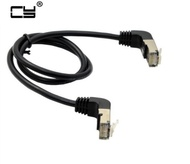 Elbow Down & Up Angled 90 Degree cat5e 8P8C FTP STP UTP Cat 5e Ethernet Network Cable RJ45 Lan Patch Cord 0.4m 1m 2m 3m 5m Angle