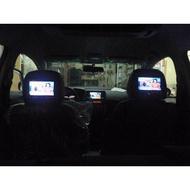 """(柚子車舖) 2008~2013 ALTIS 10代 10.5代 全新7"""" 雙頭枕型固定式螢幕 (報價一組) 可到府安裝"""