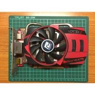 二手 撼訊 顯示卡 HD 6770 1G DDR5