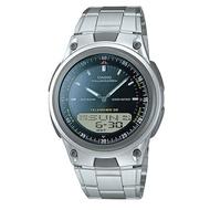 CASIO 10年電力/都會時尚腕錶/藍/AW-80D-1AVDF