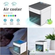 Aircond Mini Aircooler Fan Arctic Air Table Fan Smallest Aircon USB Portable Air Cooler Purifier Air Conditioner