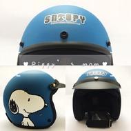 免運 現貨 SNOOPY 史努比 內襯全可拆 騎士帽 復古帽 安全帽 3/4 半罩  SY-3 卡通 正版授權 805