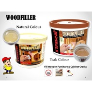WOOD FILLER PUTTY 0.5KG 2 COLOUR