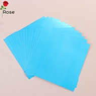 ROSE Ultra-thin Mirror Acrylic Soft Mirror Stickers DIY Mirror Sticker Adhesive stickers Self-adhesive PET Wall Stickers