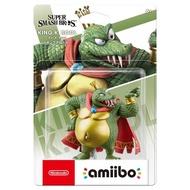 【Nintendo 任天堂】amiibo公仔 庫魯魯王/鱷魚王(明星大亂鬥)