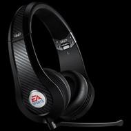 MONSTER & EA SPORTS 聯名款 MVP Carbon (黑色)耳罩式 高解析環繞音效 電競遊戲耳機,適PC、Xbox 360、PS3、Wii