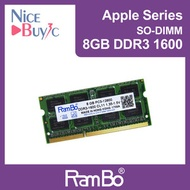 Rambo - 8GB PC3-12800 DDR3 1600 SO DIMM SDRAM Memory for Apple Mac Macbook iMac