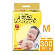 箱購-小淘氣透氣乾爽嬰幼兒紙尿褲M(50片X6包)