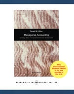 managerial accounting (新品)